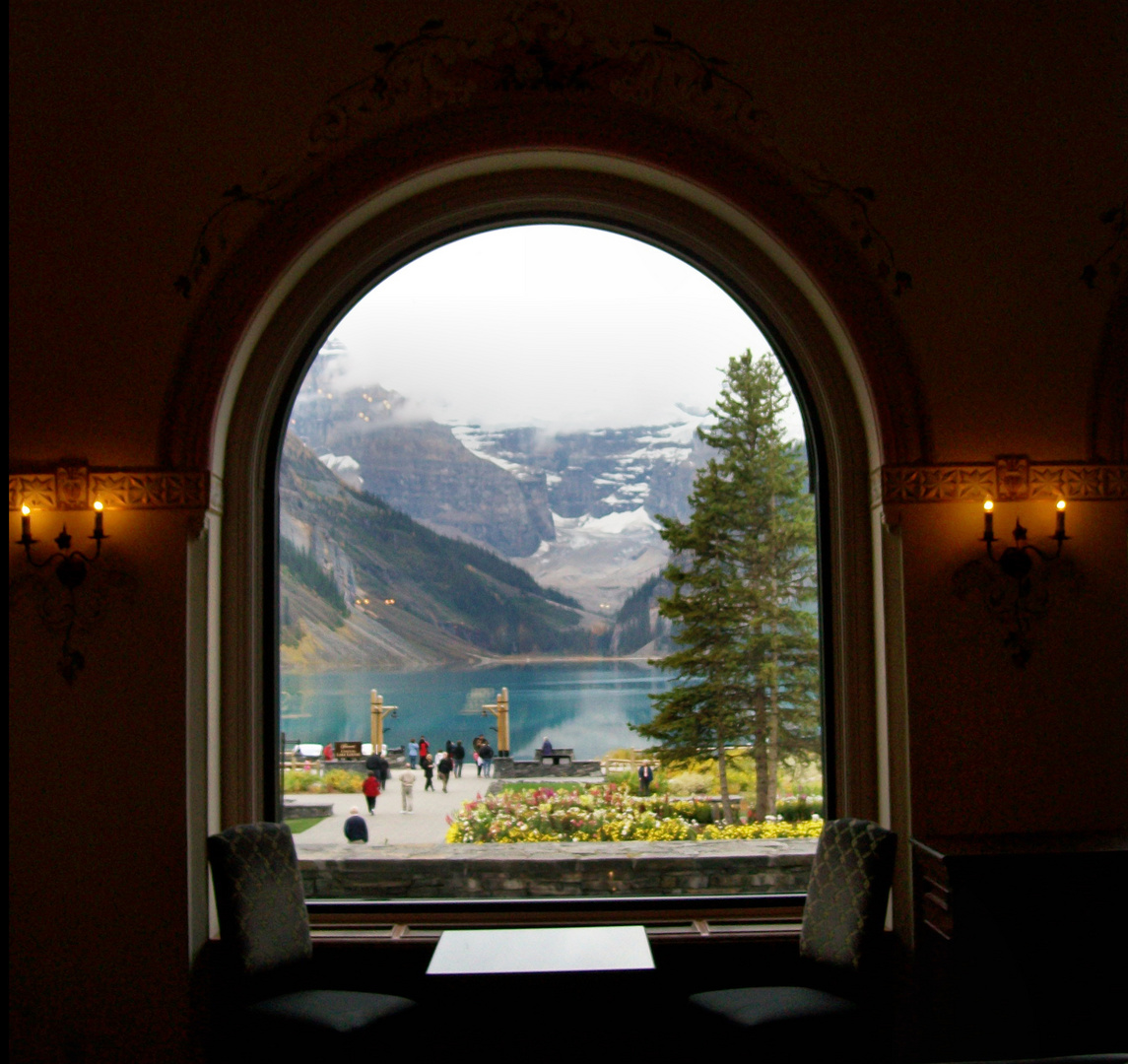 Lake Louise - Blick aus dem Chateau