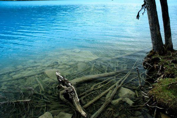 Lake Louise mal aus einer anderen Perspektive