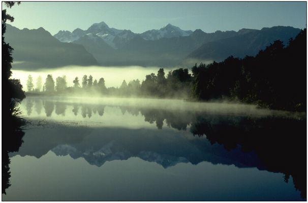Lake Matheson Neuseeland