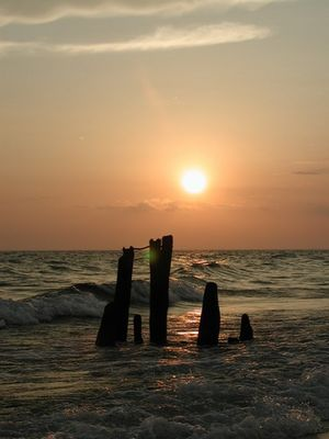 Lake Michigan Sun Set 2002