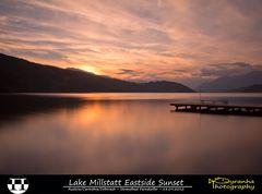 Lake Millstatt Eastside Sunset