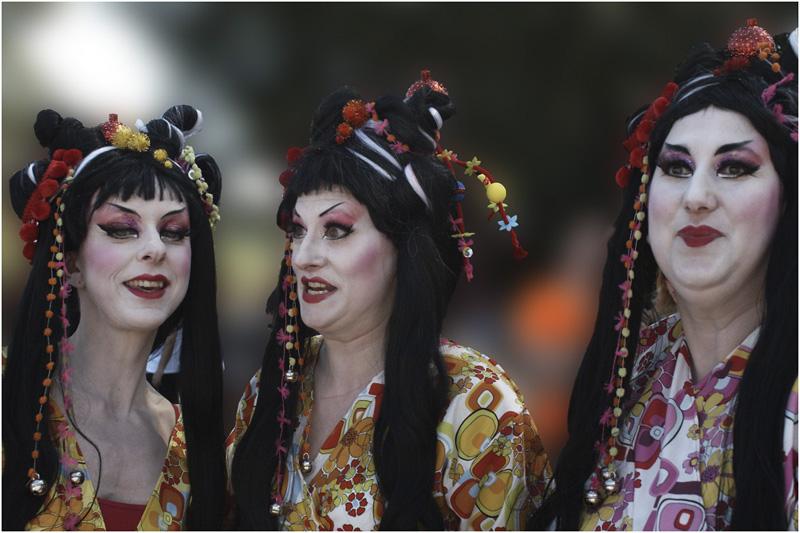 Lake Parade Genève , un fragile masque de poudre