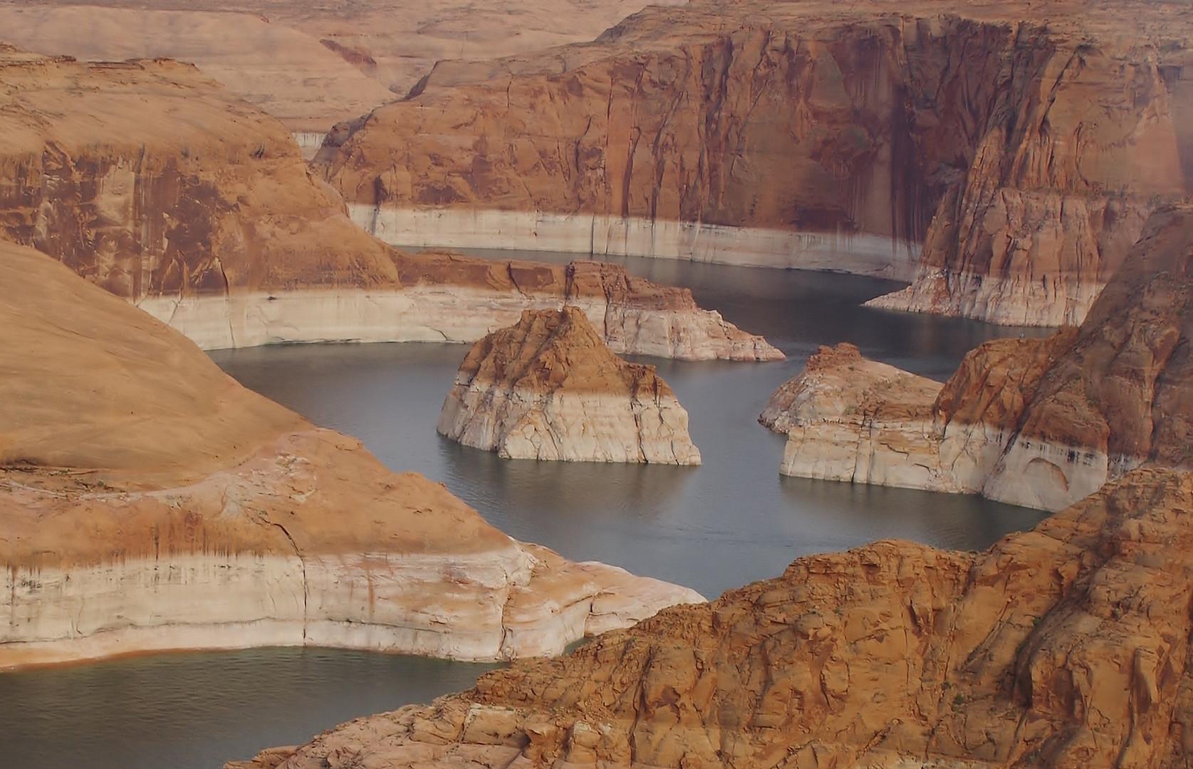 Lake Powell aus der Vogelperspektive
