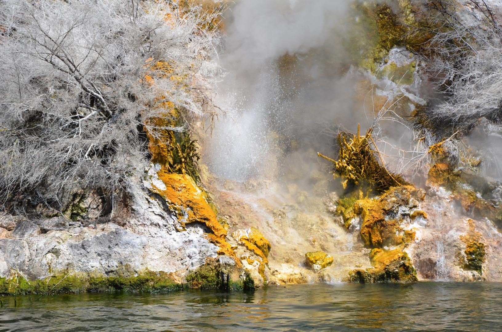 Lake Rotomahana Neuseeland