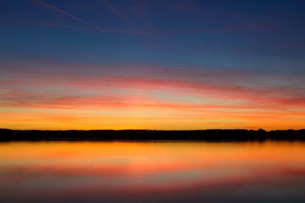 Lake, Sky, Colours 2