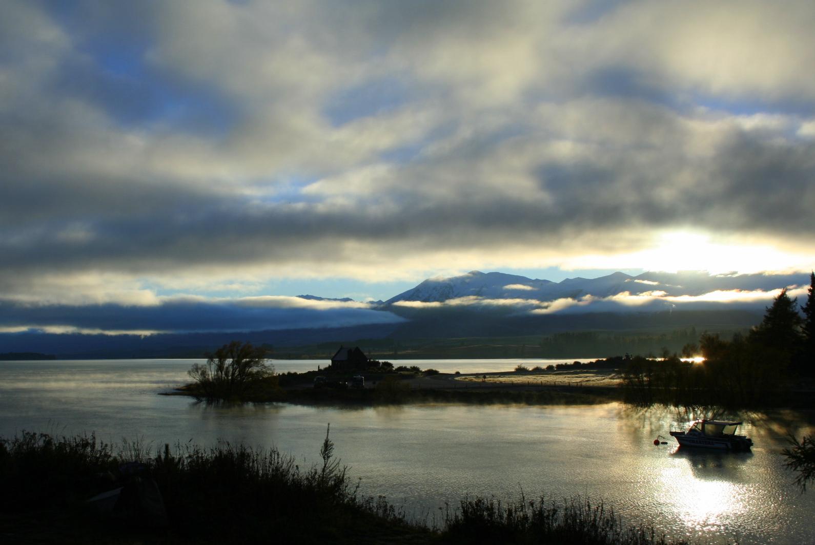 Lake Tekapo.