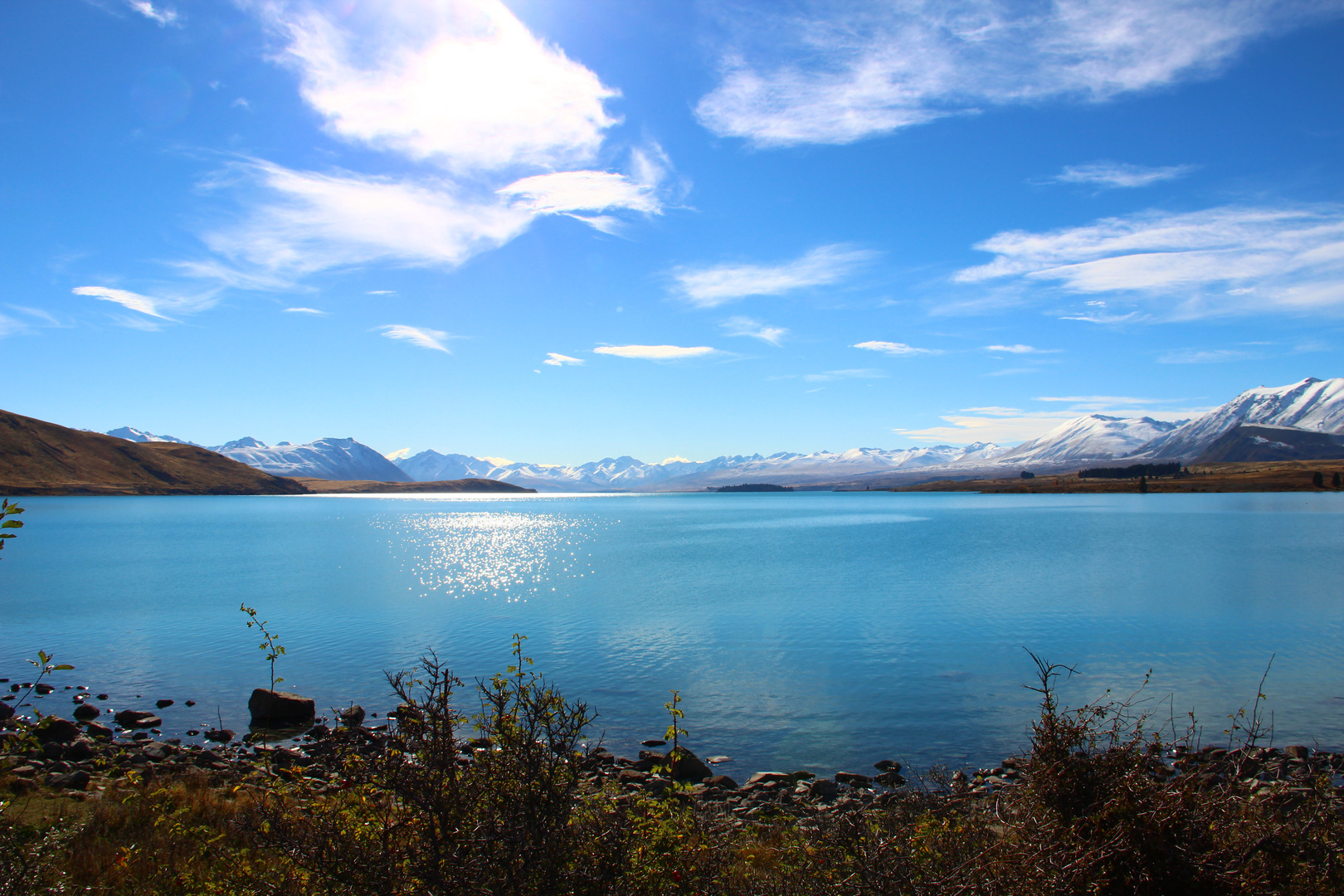 Lake Tekapo... - The blue lake