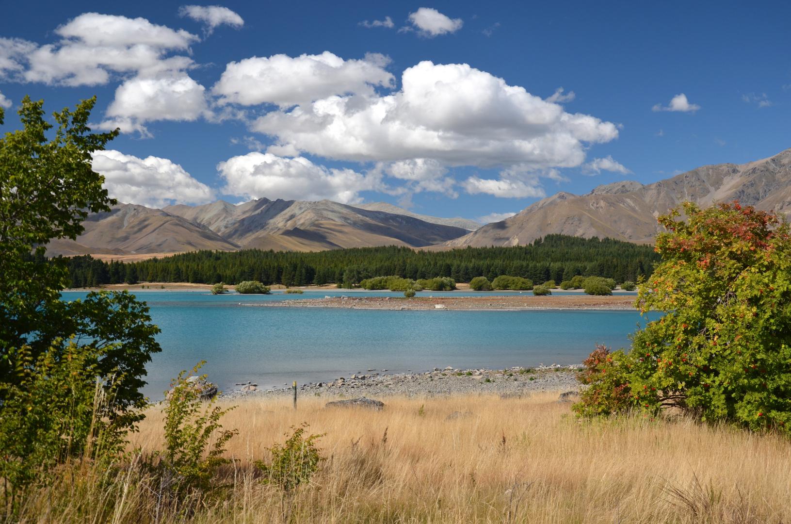 Lake Tekapu auf der Südinsel...
