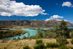 Lake Waitaki - Neuseeland