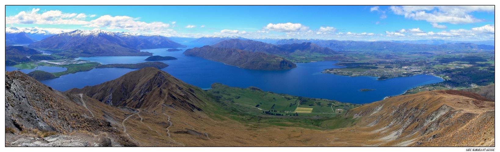 Lake Wanaka (Panorama -> scroll right)