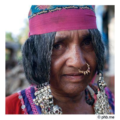 Lakshmi de Hampi, communauté nomade « Lambani »