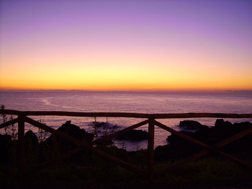 L'alba del nuovo anno