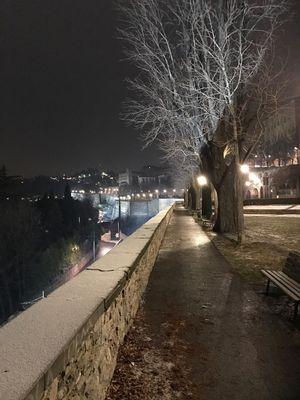 l'altra sera a Bergamo alta