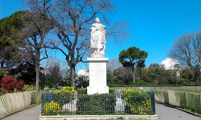 Lamartine dans le Parc de Longchamp à Marseille