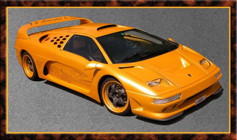 Lamborghini Diablo Evolution GTR Le Mans