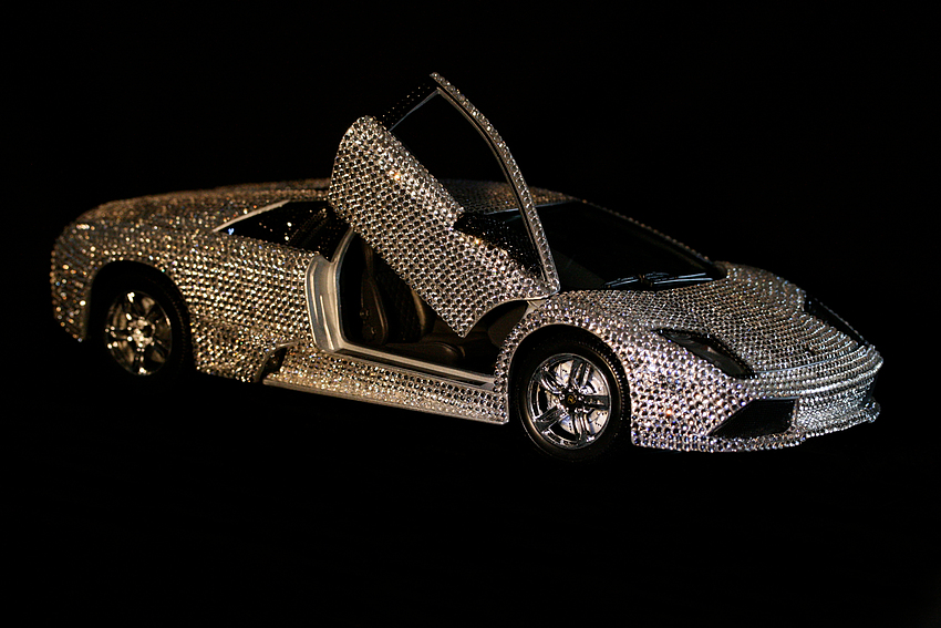 Lamborghini Murcielago LP640 Swarovski im Maßstab 1:18