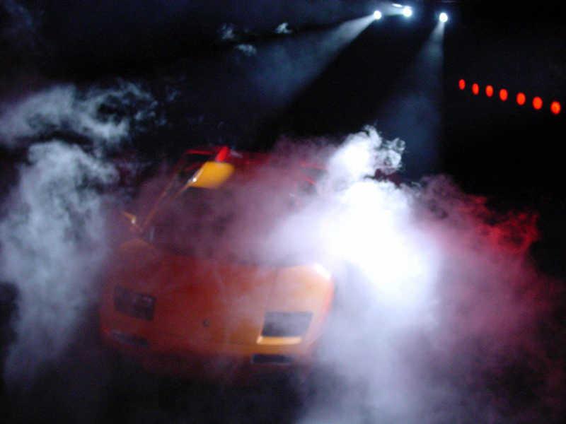 Lamborghini nach dem Urknall