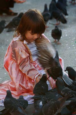 L'amica dei piccioni