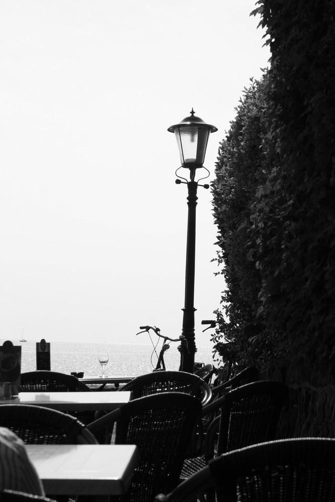 lamp - fiets - glas