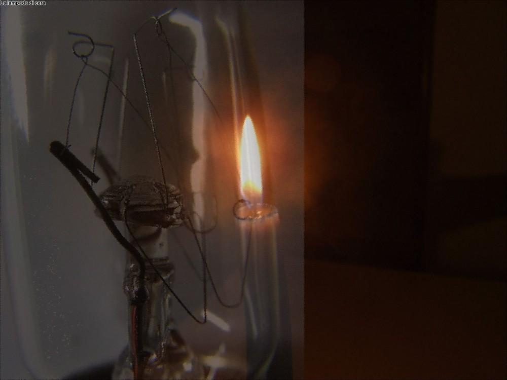Lampada e candela