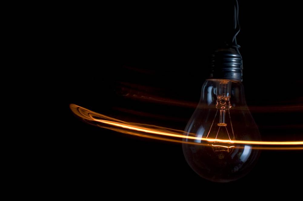 Lampada in confusione