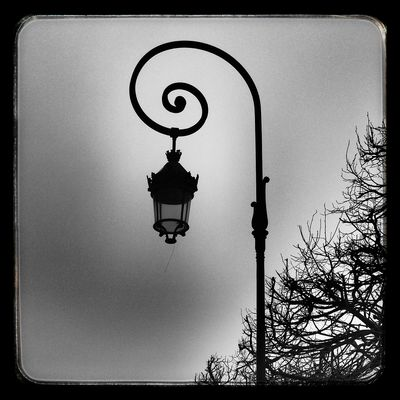 Lampadaire Place des Vosges