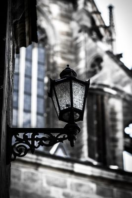 Lampe am Dom