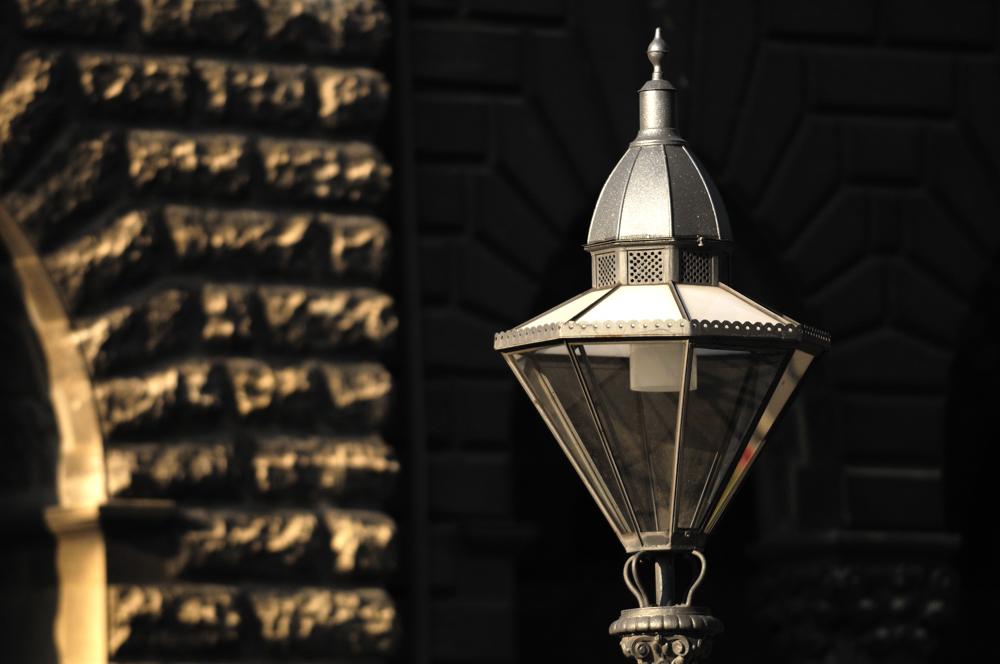 Lampe beim Rathaus