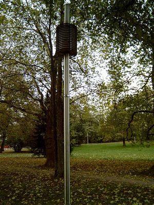Lampe im Park