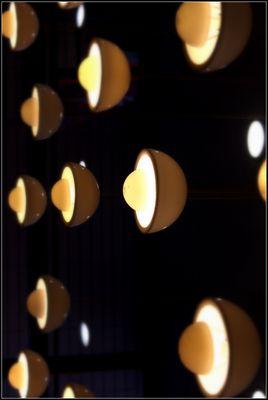 Lampen im Eiscafe