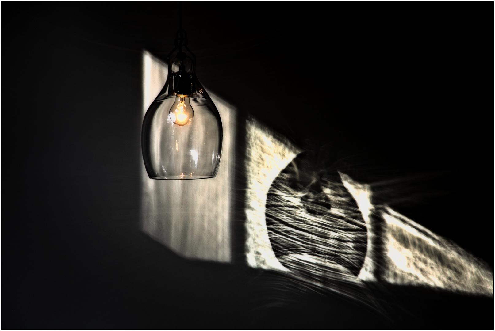 Lampen im Glasmuseum, Leerdam NL.