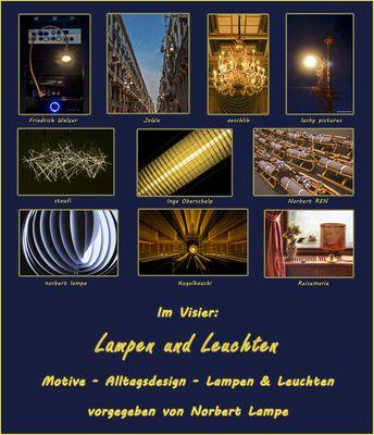*Lampen und Leuchten* Collage von Kugelbauchi