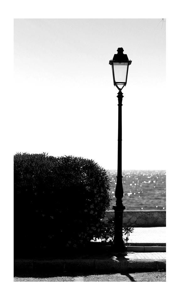 lampione solitario
