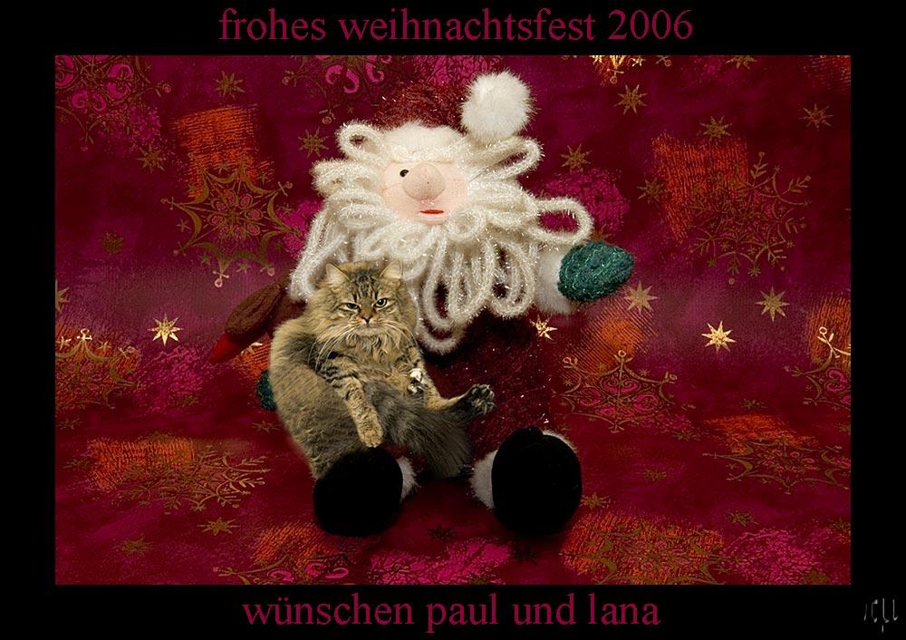 lana kümmerling wünscht allen ein schönes weihnachtsfest