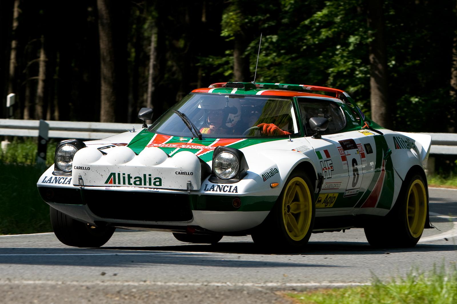 "Lancia Stratos - Alitalia ""Legends Of Speed 2011"""