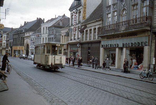 l'ancien tramway à Valenciennes