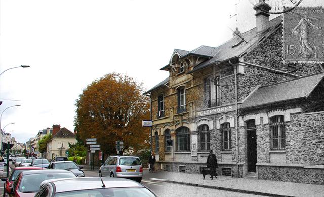 L'ancienne poste de Sannois...hier et aujourd'hui