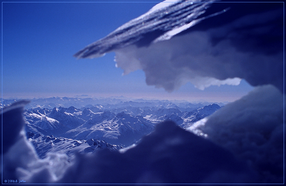 Land der tausend blauen Zacken