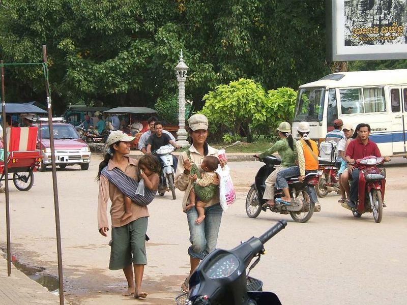 Land und Leute in Siem Reap