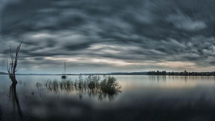 Land unter am Bodensee
