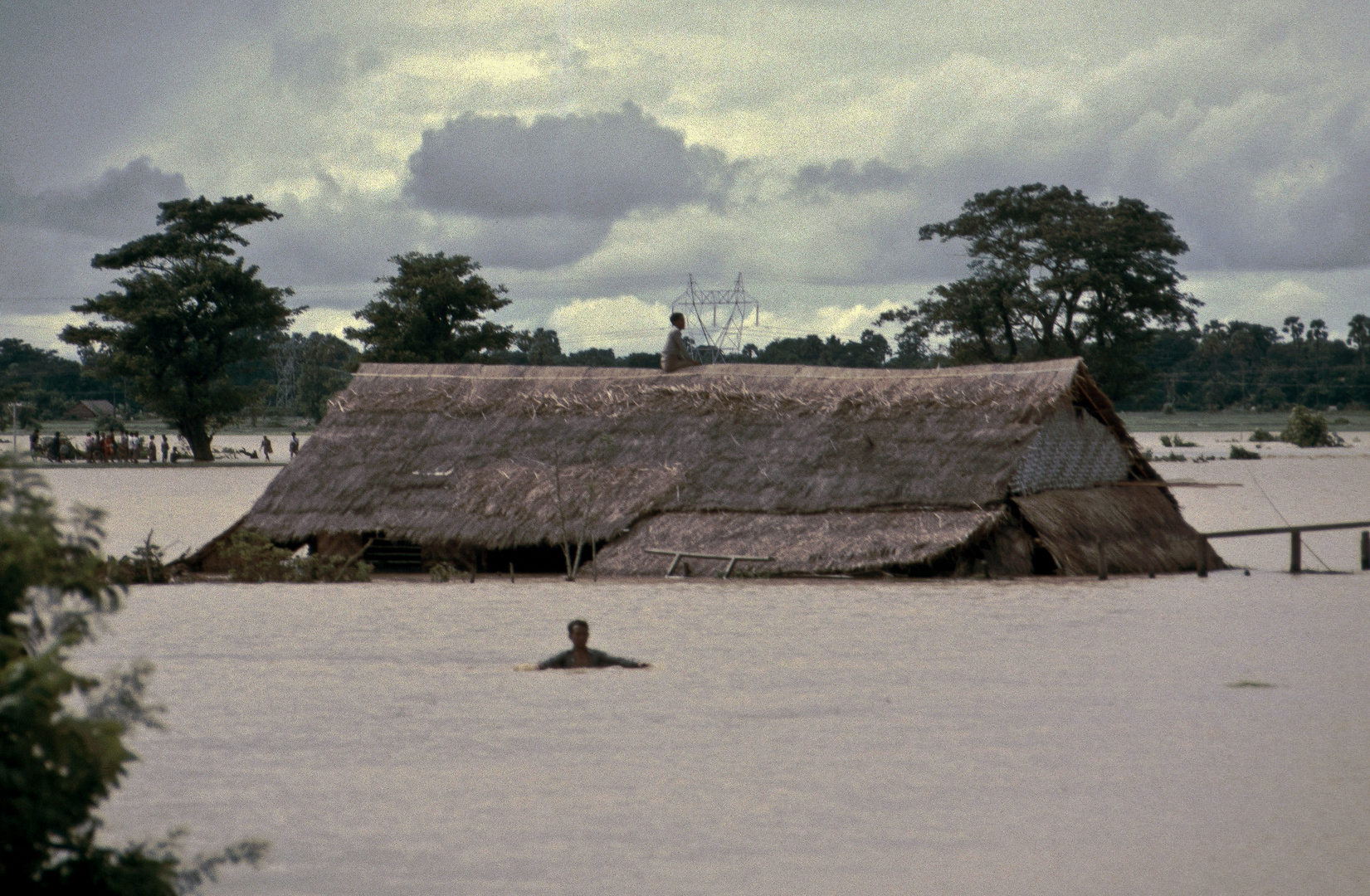 Land unter in Burma, 1985
