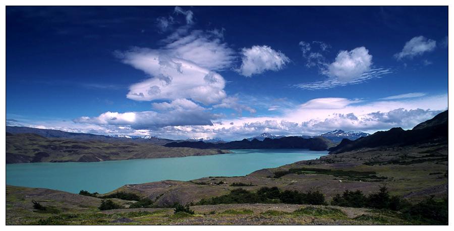 Land, Wasser und Himmel