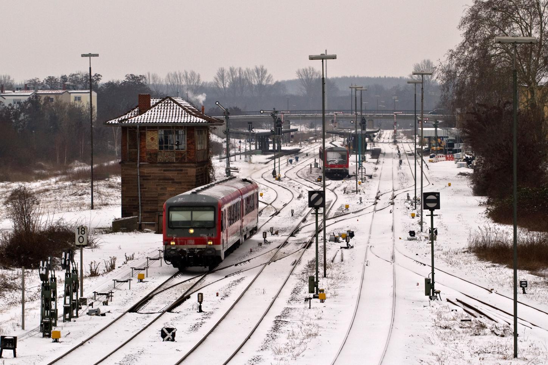 Landau im Winter