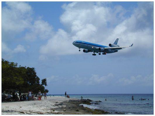 Landeanflug ....