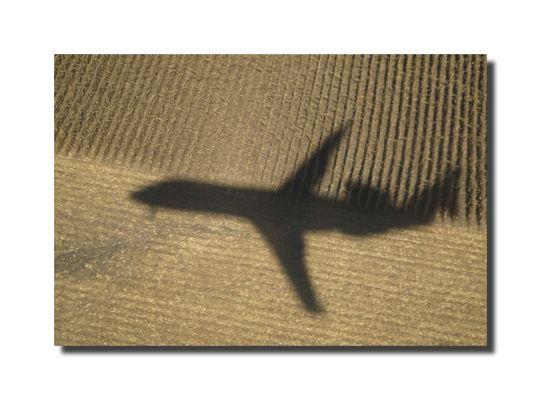 Landeanflug ...