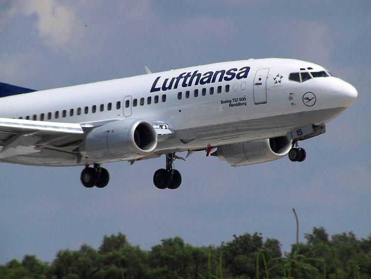 Landeanflug auf Hamburg