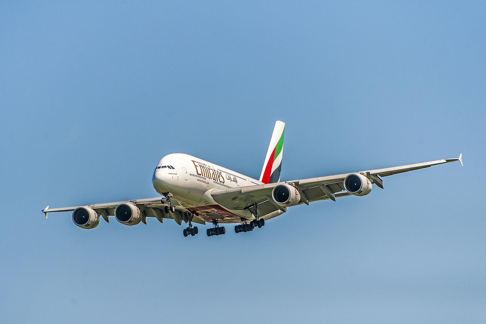 Landeanflug auf München