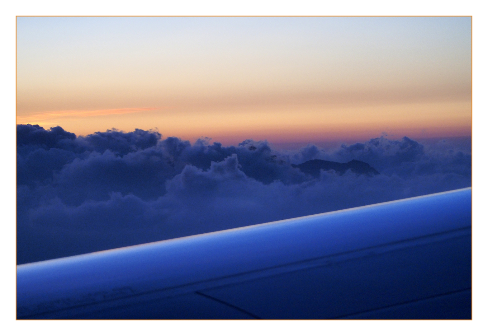 Landeanflug auf Palma die Mallorca