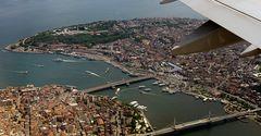 Landeanflug Istanbul