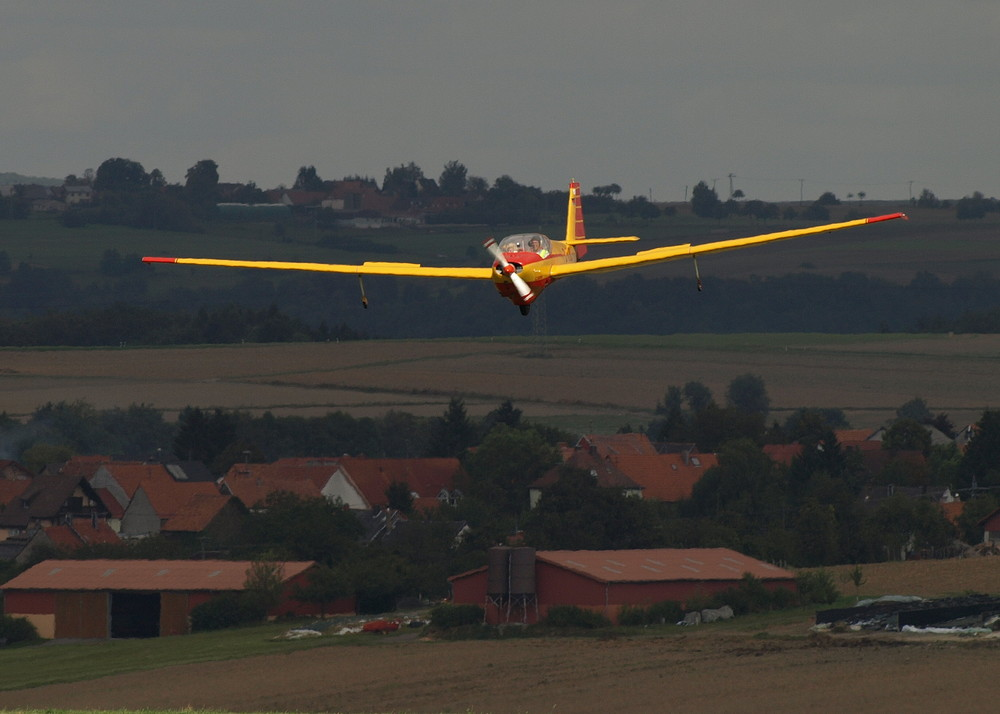 Landeanflug   (JJ)